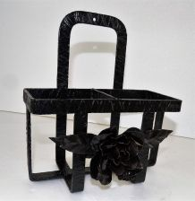 etagere metal art deco