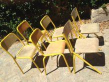 Chaises d'écolier vendue à l'unité