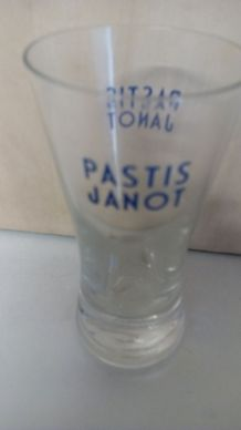 verre pastis janot