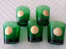 lot de 5 verres publicitaires Byrrh