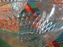 Lot de 3 Bols en verre moulé et ciselé de la marque vereco m