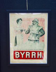 Publicité encadrée BYRRH La madelon années 30