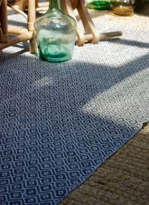 Tapis coton style scandinave