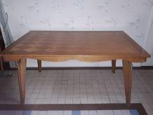 Table de salle à manger Art Déco + 2 rallonges