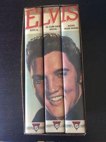Coffret ELVIS TRILOGIE 3 VHS