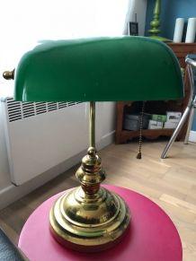 Lampe banquier 35 cm