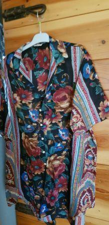 Robe tunique vintage