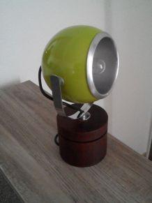 lampe boule verte 70