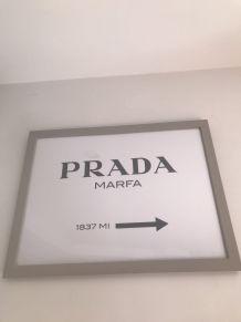 Poster «Prada» 30x40cm