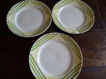 assiettes plates Moulin des Loups