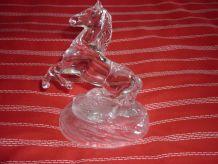 Cheval en cristal d'Arques