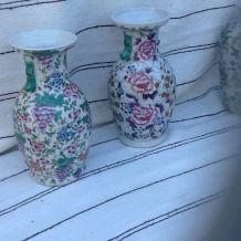 Vase chinois  contemporain