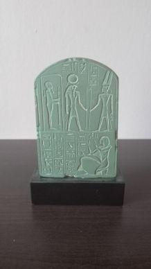 Moulage du Louvre : Stèle de Tchia