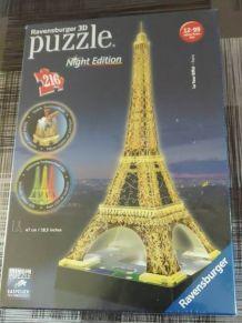Puzzle la tour Eiffel édition spéciale
