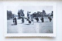 Photo vintage / ancienne Maroc - militaires