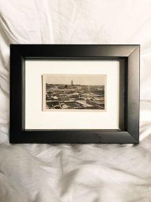"""Photo vintage """"les toits de Marrakech"""" années 30 Maroc"""