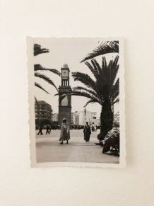 Photo vintage place de France Casablanca