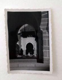 Photo vintage La Porte royale de la medina Marrakech