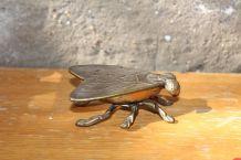 Cendrier mouche en bronze petit modèle