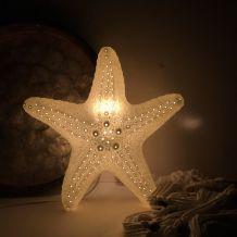 Etoile de mer lumineuse en céramique