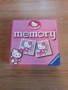Jeu memory Hello Kitty
