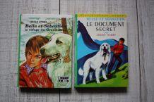 Lot de 9 livres Bibliothèque Verte