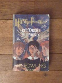 Harry Potter Et L'ordre Du Phenix - Tome 5 - J.k. Rowling
