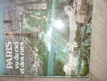 Livre  Paris vu du ciel et des rues.