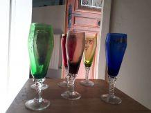lot de 6 coupes à champagne