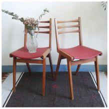 Paire de chaises bridge