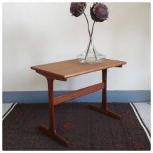 Table d'appoint en teck - Style Scandinave