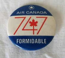 1 badge AIR CANADA