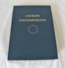 L'europe contemporaine Jacques Douffiagues Roger