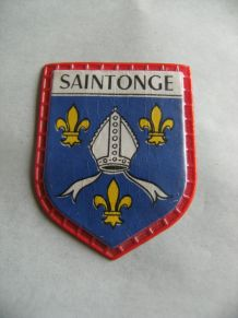 Badge collection quick lait régilait armoiries