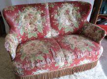 Canapé à retapisser – 2 places – années 50