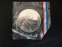 Essai 50 francs argent Monaco 1974