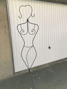 Mannequin Femme métal