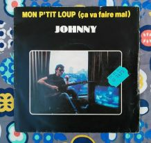 45 tours vinyle Johnny Halliday