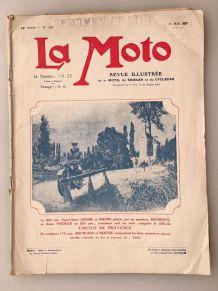 La Moto Revue Illustrée de la Moto du Sidecar... 1927