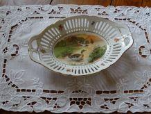 2 Panières porcelaine Schumann