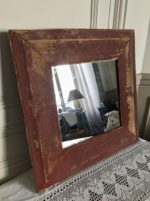 Grand miroir, bel encadrement