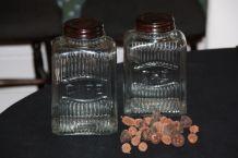 bocaux de conservation en verre