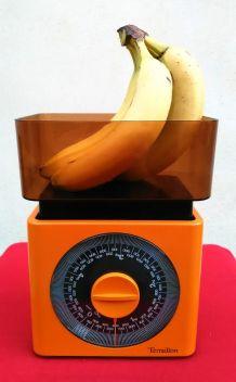 Balance de cuisine orange Teraillon - Vintage