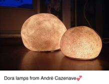 Lampes Dora André Cazenave pour Atelier A