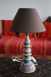 LAMPE DE SALON OU DE CHEVET ETHNIQUE