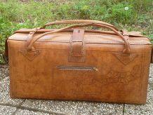 grand sac en cuir de voyage de Madagascar