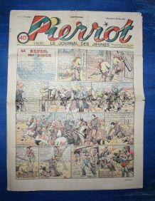 PIERROT N° 6 DU 06/02/1938 - LE JOURNAL DES JEUNES
