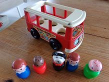 School Bus Fisher Price 1969