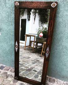 Miroir ethnique naturel