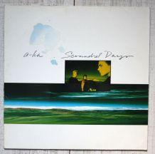 """Vinyl 33t AHA """"Scoundrel Days"""""""